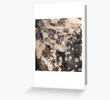 Bleach Blot Collection Greeting Card