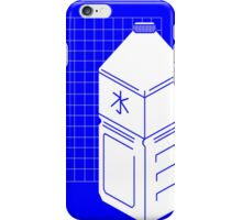 Kanji Water bottle vaporwave aesthetics iPhone Case/Skin