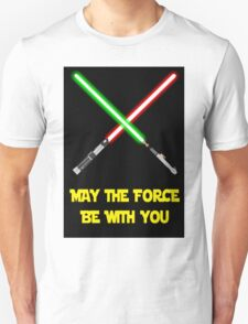 May the force be with you-star wars fanart Unisex T-Shirt