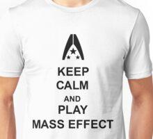 Keep Calm And Play Mass Effect Unisex T-Shirt
