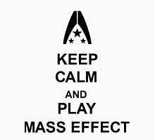 Keep Calm And Play Mass Effect Unisex T-Shirt