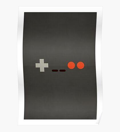 NES - Nintendo Controller Minimalist Series Poster