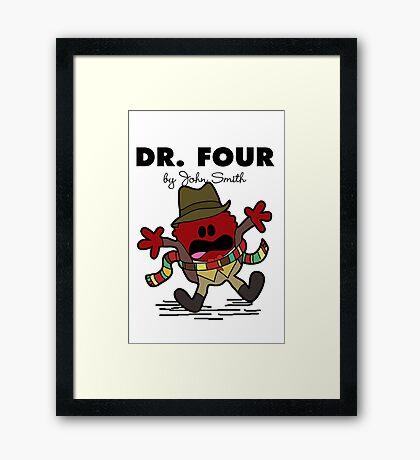 Dr Four Framed Print