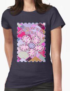 beautiful cool design square pink  T-Shirt