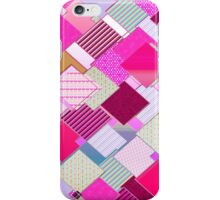 beautiful cool design square pink  iPhone Case/Skin