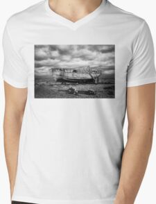 High and Dry at Dungeness Mens V-Neck T-Shirt