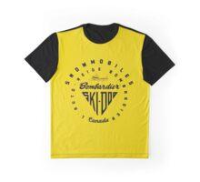Vintage, Ski Doo, snowmobiles, Graphic T-Shirt