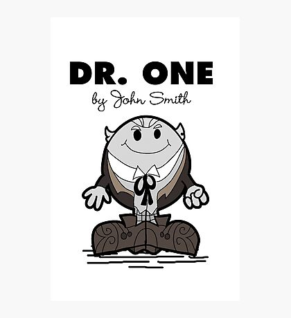 Dr One Photographic Print