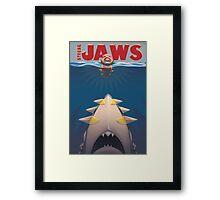 Pokemon Strong Jaws Framed Print