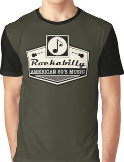 Rockabilly American 60's Music Graphic T-Shirt