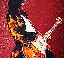 Jimmy Page  by Inna Ivanova