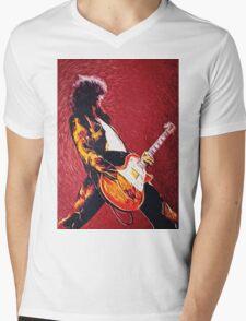 Jimmy Page  Mens V-Neck T-Shirt