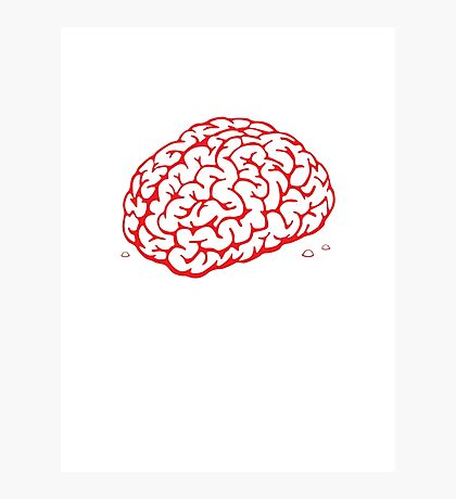 Brain Photographic Print