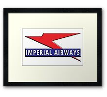 Imperial Airways Framed Print