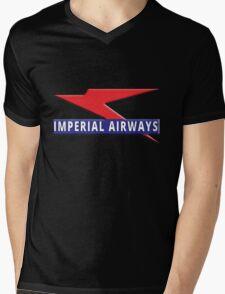 Imperial Airways Mens V-Neck T-Shirt