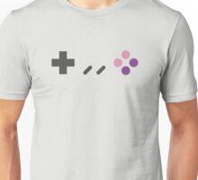 SNES - Nintendo Controller Minimalist Series Unisex T-Shirt