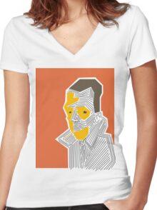 outsider Women's Fitted V-Neck T-Shirt