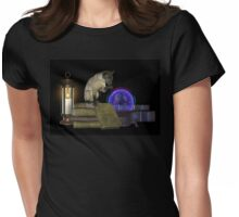 The Witches familiar   Womens Fitted T-Shirt