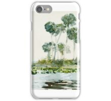 Winslow Homer, ST. JOHNS RIVER, FLORIDA iPhone Case/Skin