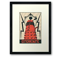 Dr Who Dalek Framed Print