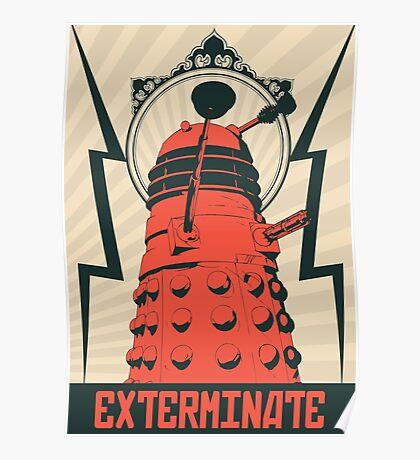 Dr Who Dalek Poster