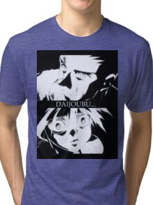 Gon and Killua Tri-blend T-Shirt