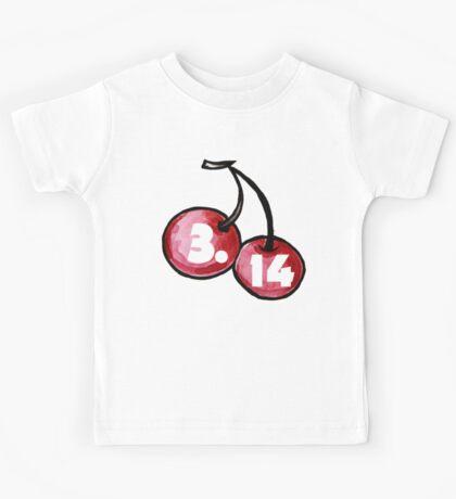 3.15 cherry pi day Kids Tee