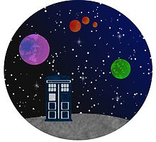 Travel with the TARDIS by Adelidaw