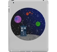 The Blue Box in the Outer Space. iPad Case/Skin