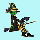 The Green Witch  by LoneAngel