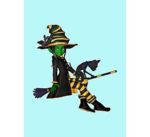 The Green Witch  Photographic Print