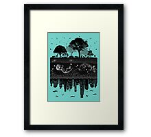 Timelines Of The Earth Framed Print