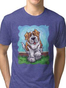 Animal Parade St. Bernard Tri-blend T-Shirt