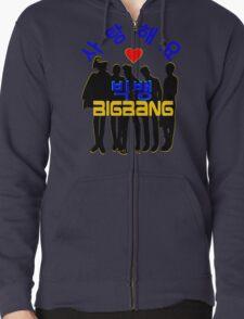 ♥♫Love BigBang Cool K-Pop Clothes & Phone/iPad/Laptop/MackBook Cases/Skins & Bags & Home Decor & Stationary♪♥ Zipped Hoodie