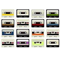 Analog Tape II Photographic Print