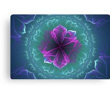 Ornate Blossom in Fuchsia Canvas Print