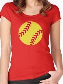 Softball Women's Fitted Scoop T-Shirt