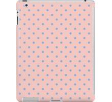 Blue Rose Quartz Pink 2016 Polka Dot Spotty Pattern iPad Case/Skin