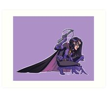Huntress 1990s JLA Art Print