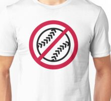 No Softball Unisex T-Shirt