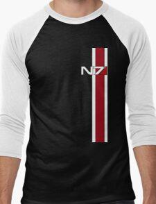 Mass Effect N7 Men's Baseball ¾ T-Shirt