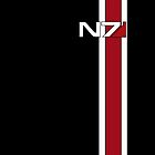 Mass Effect N7 by Laivine