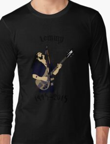 Tribute to Ian Lemmy Kilmister (Motorhead) Long Sleeve T-Shirt