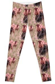 Australian Kelpie and Sheep leggings Leggings