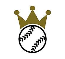 Softball crown  Photographic Print