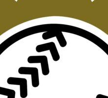 Softball crown  Sticker