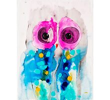 Moments Owl by Julie  Sutherland