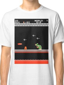 MARIO - VS BOWSER Classic T-Shirt