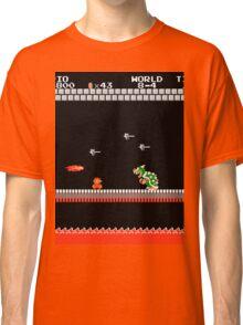MARIO - VS BOWSER Classic T-Shirt