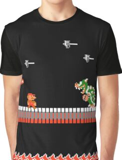 MARIO - VS BOWSER Graphic T-Shirt